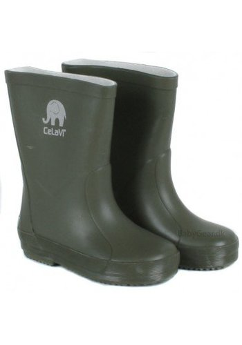 CeLaVi Dark green wellies size 23