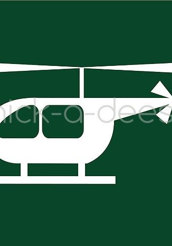 Customise your overall with the picture of a helicopter