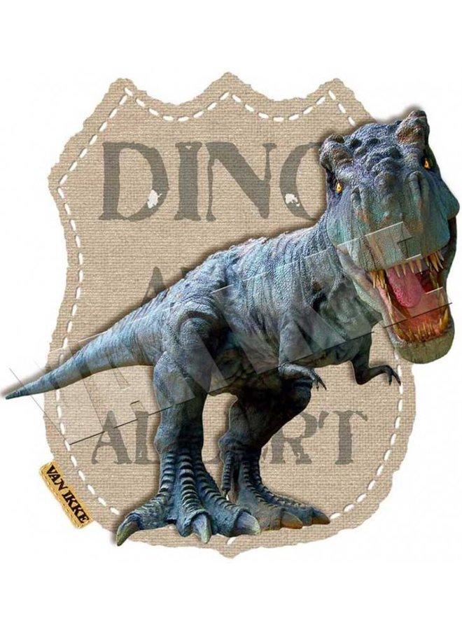Strijkapplicatie Dino Alert