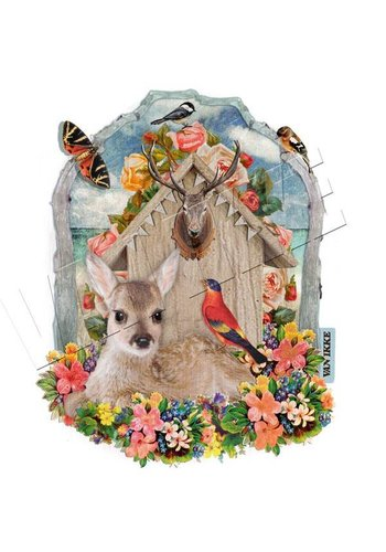 Vanikke Iron-on transfer deer