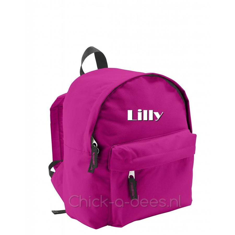 Backpack with name print-3