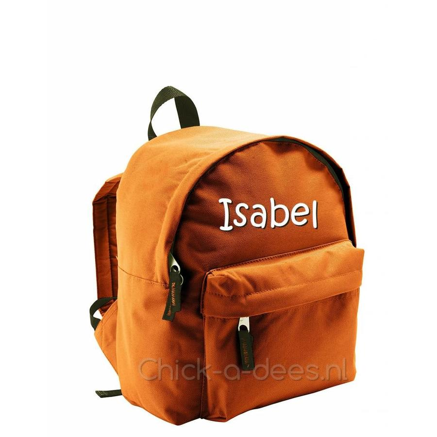 Backpack with name print-6