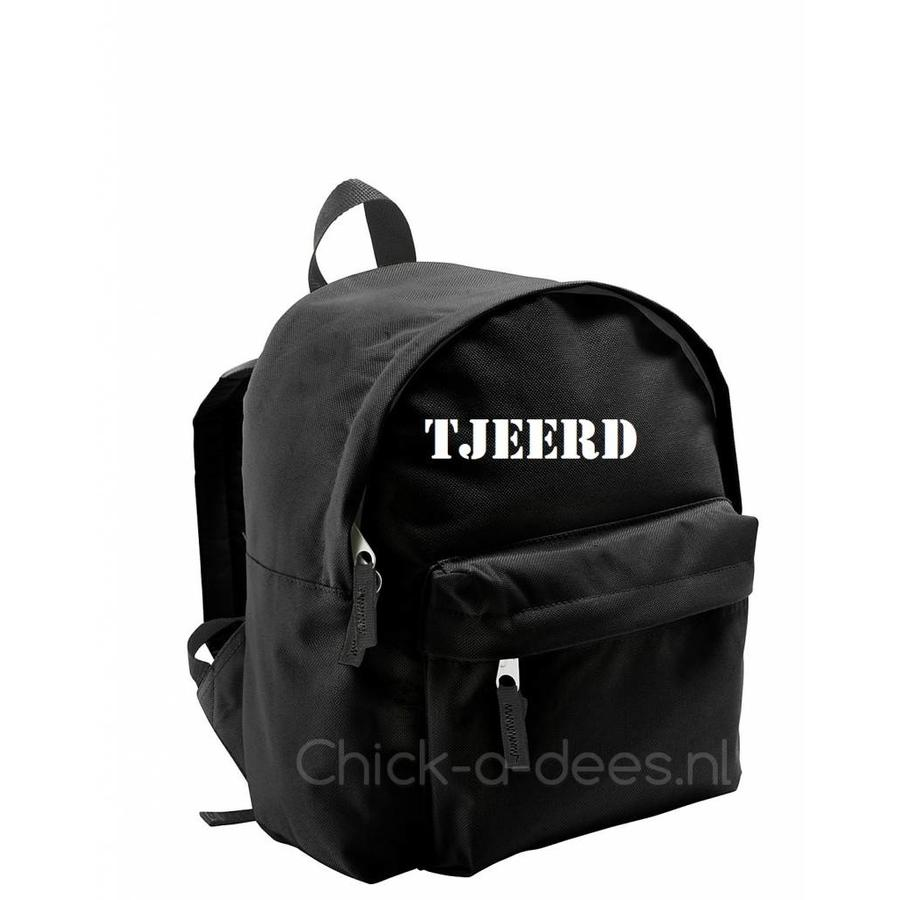 Backpack with name print-9