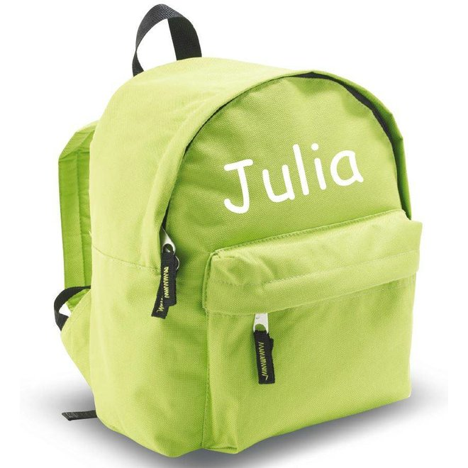 Backpack with name print