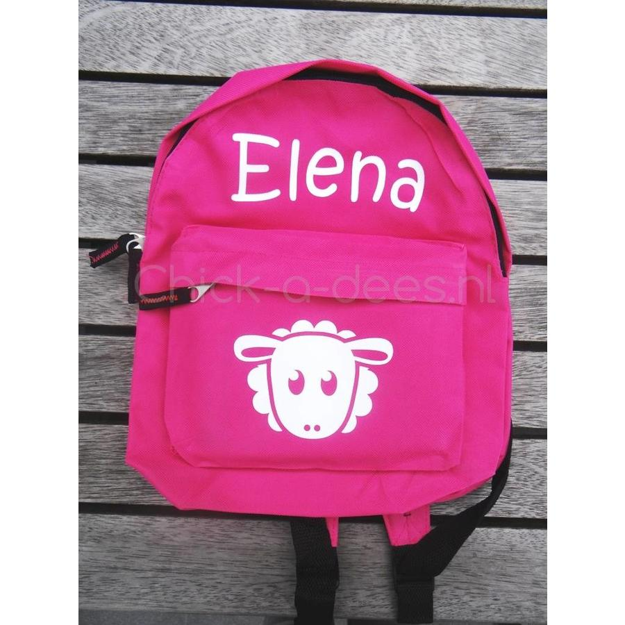 Beautiful backpack with name print and farm theme-2