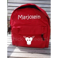 thumb-Beautiful backpack with name print and farm theme-3