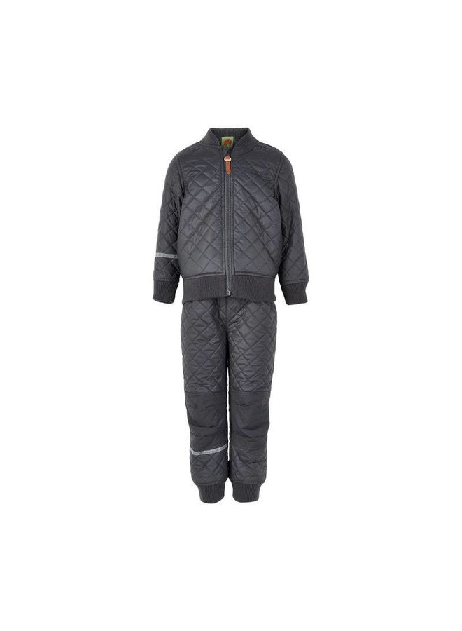 Thermo outer suit jacket and trousers water-repellent
