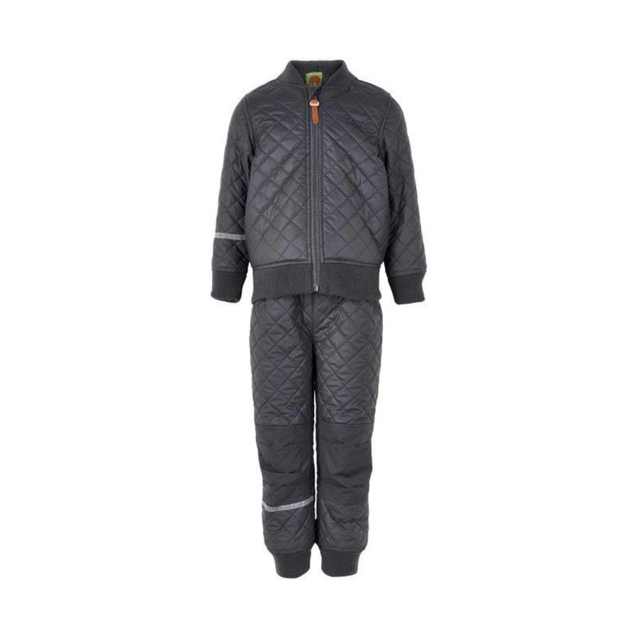 Thermo outer suit jacket and trousers water-repellent-3