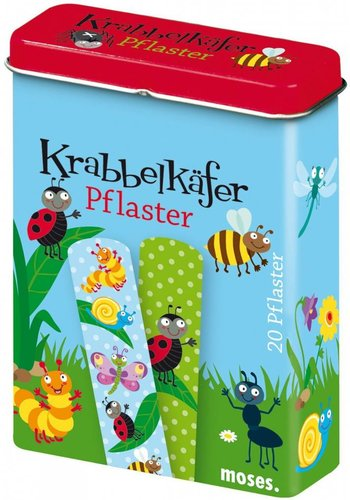 Kriebeldiertjes Insect plasters, creepy crawlers