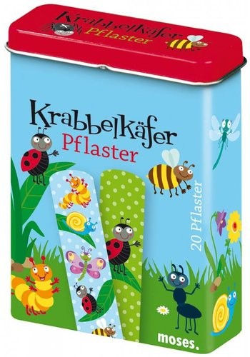 Kriebeldiertjes Insect plasters, creepy crawlers