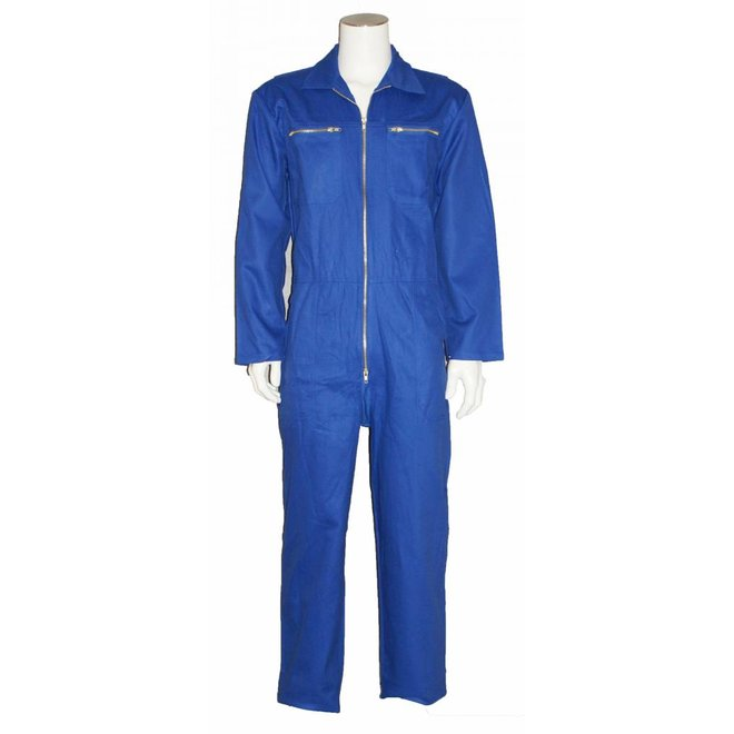 Children's overall made of 100% cotton-blue