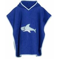 Beach poncho, bath poncho - Shark