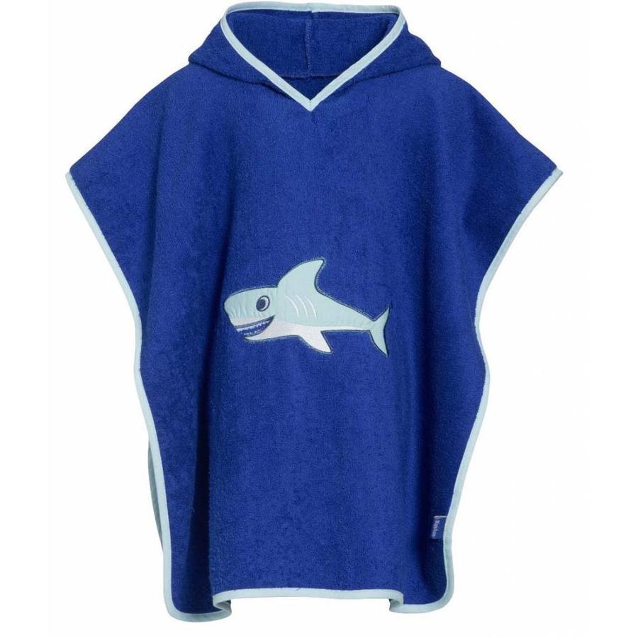 Beach poncho, bath poncho - Shark-1