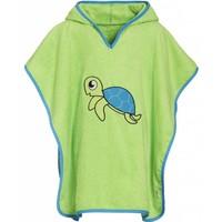 thumb-Beach poncho, bath poncho - Turtle-1