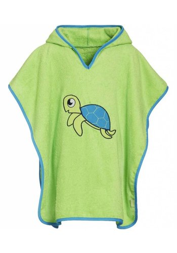 Playshoes Beach poncho, bath poncho - Turtle
