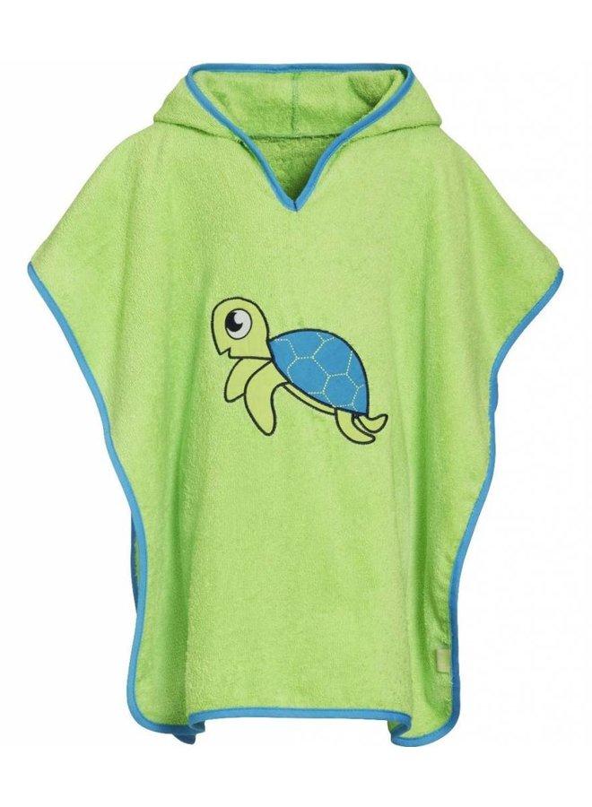 Badcape, strand poncho - Schildpad