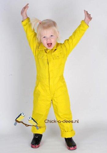 Yellow children's overalls