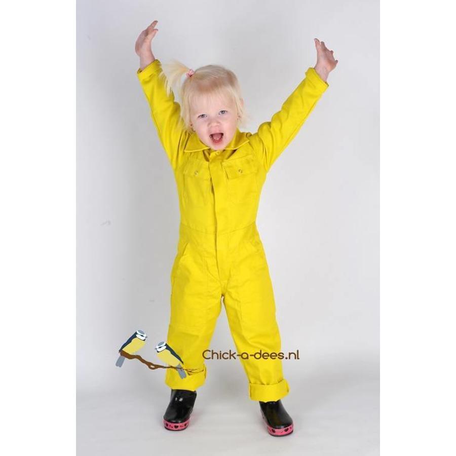 Yellow overall child-1