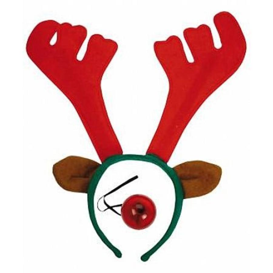 Diadem reindeer with flashing nose-1