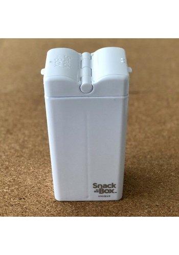Drink in the Box Snackdoosje in wit- Snack in the Box