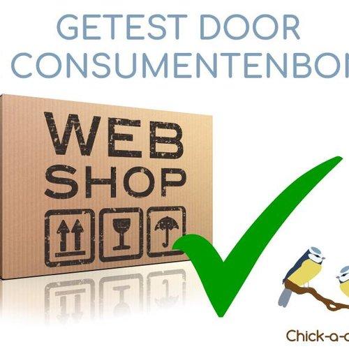Chick-a-dees getest door de consumentenbond