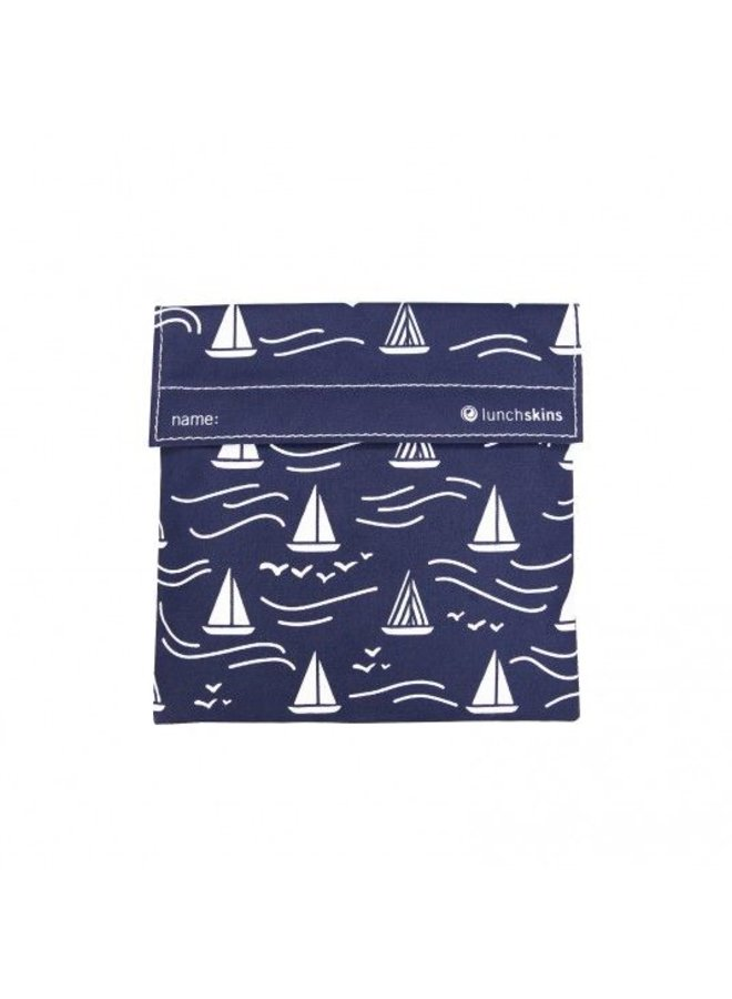 Sandwich bag Navy Boat