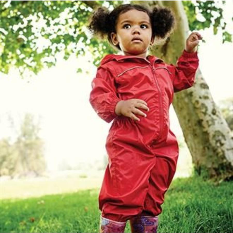 Paddle rain suit, rain coverall in one piece with zipper and hood| 80-116-4