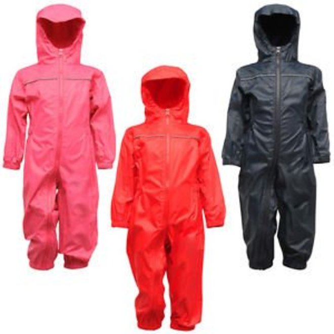 Paddle rain suit, one-piece rain overalls with front zip and hood | 80-116