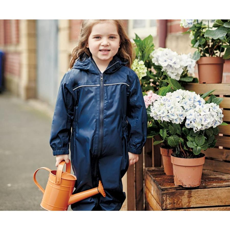 Paddle rain suit, rain coverall in one piece with zipper and hood| 80-116-3