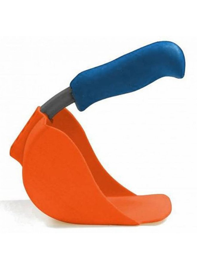 Child scoop, orange shovel