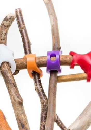 Stick-Lets Hexa Fort kit: 6 silicone connectors
