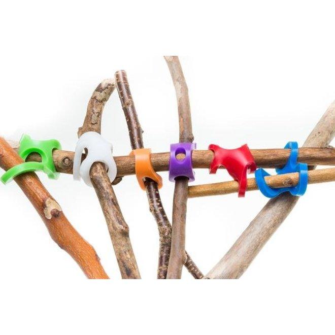 Hexa Fortkit met 6 verbindingsstukken