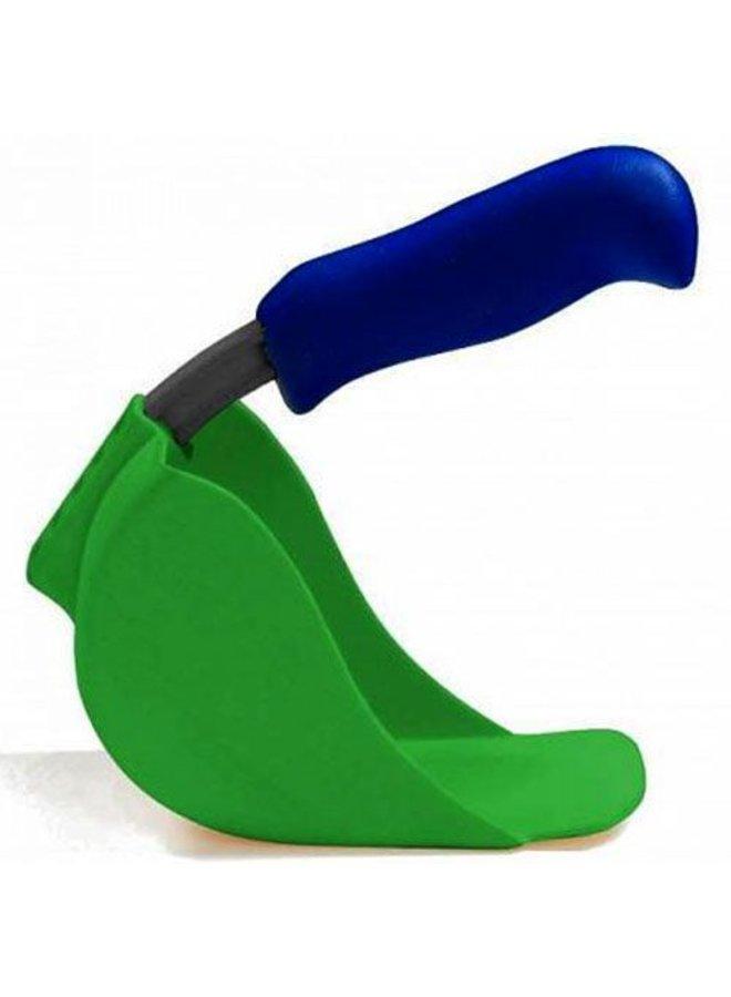 Child scoop, green shovel