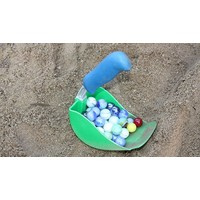 thumb-Super shovel scoop in blue-3