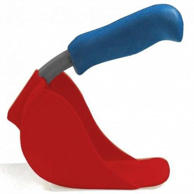 Child scoop, red shovel