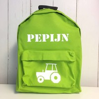 thumb-Backpack tractor  with name print-2