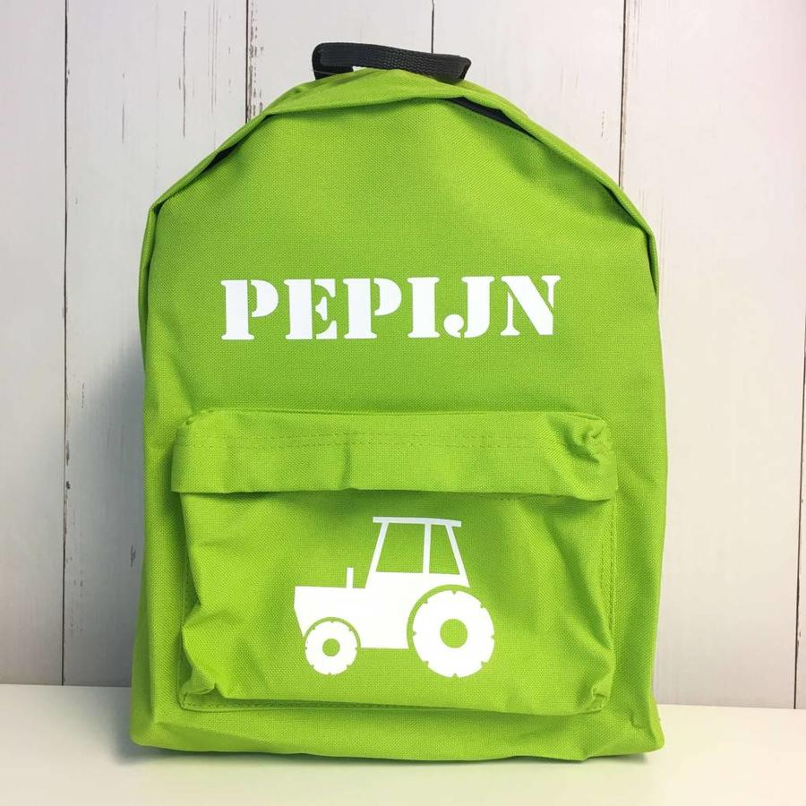 Backpack tractor  with name print-2