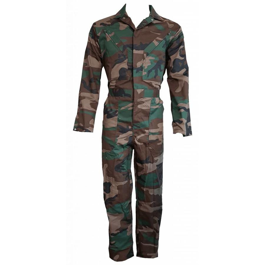 Child's overall in camouflage colors-3