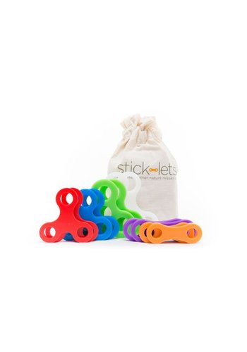 Stick-Lets Dodeka Fort kit: 12 pieces