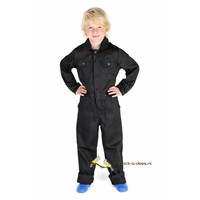 thumb-Black overalls with name or text printing-2