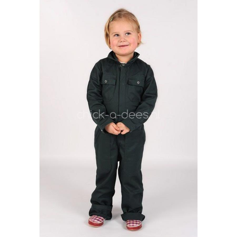 Black overalls with name or text printing-3