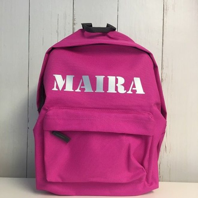 Junior backpack with name