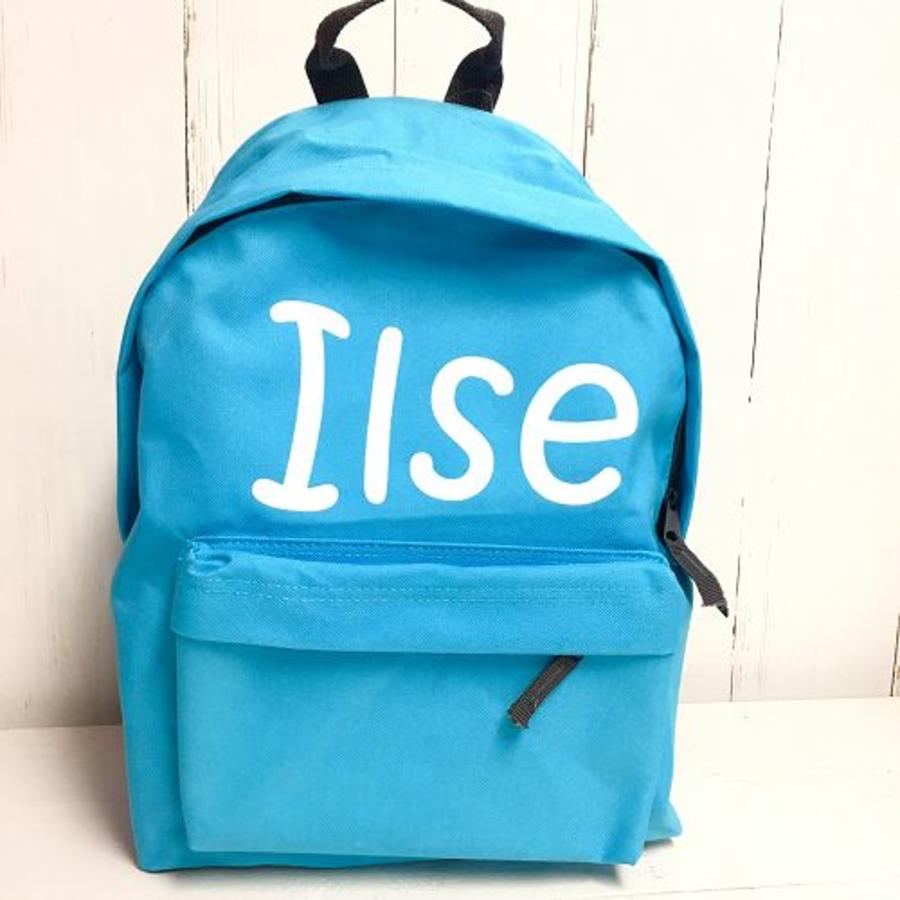 Backpack with name print - Copy-1