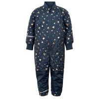 thumb-Quilted blue thermo overall with butterflies| 80-104-1