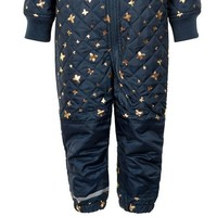 thumb-Quilted blue thermo overall with butterflies| 80-104-3