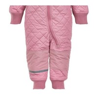 thumb-Water repellent thermal suit one piece -pink rose-3