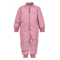 thumb-Water repellent thermal suit one piece -pink rose-1
