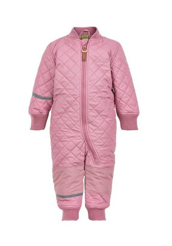 CeLaVi Water repellent Thermal coverall one piece-pink rose