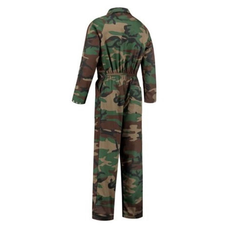 Child's overall in camouflage colors-4