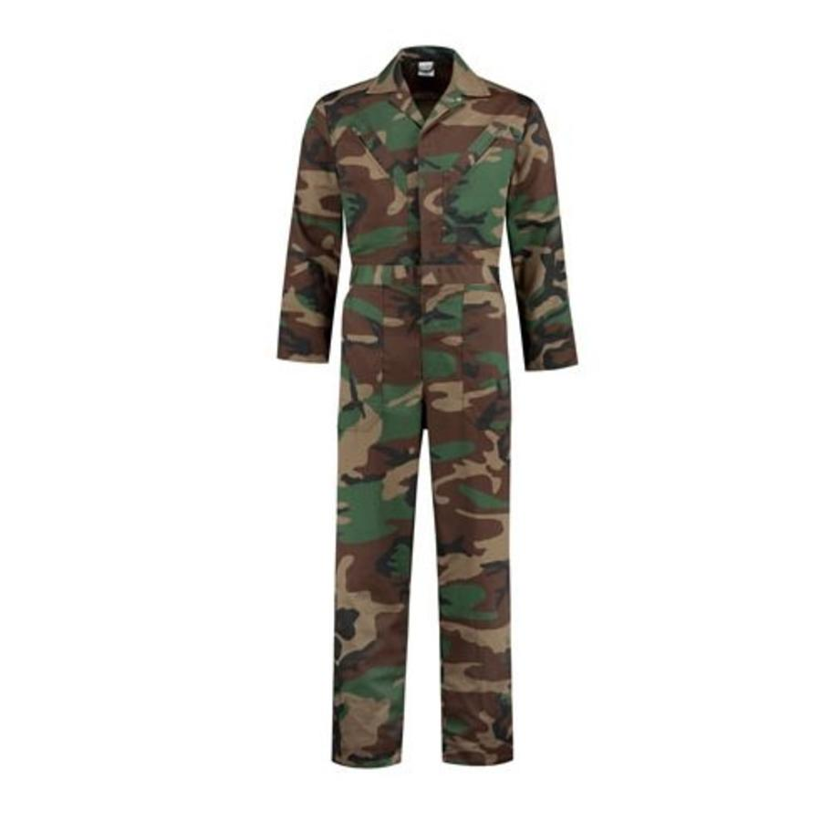 Child's overall in camouflage colors-2